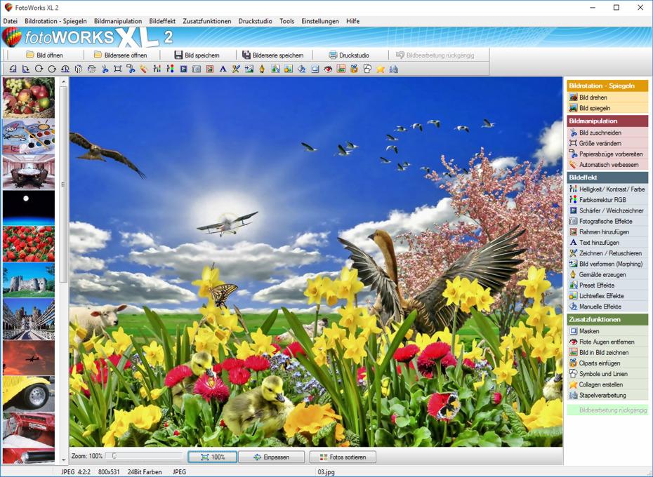 Fotobearbeitungsprogramm für Windows 7,8,10 kostenlos runterladen
